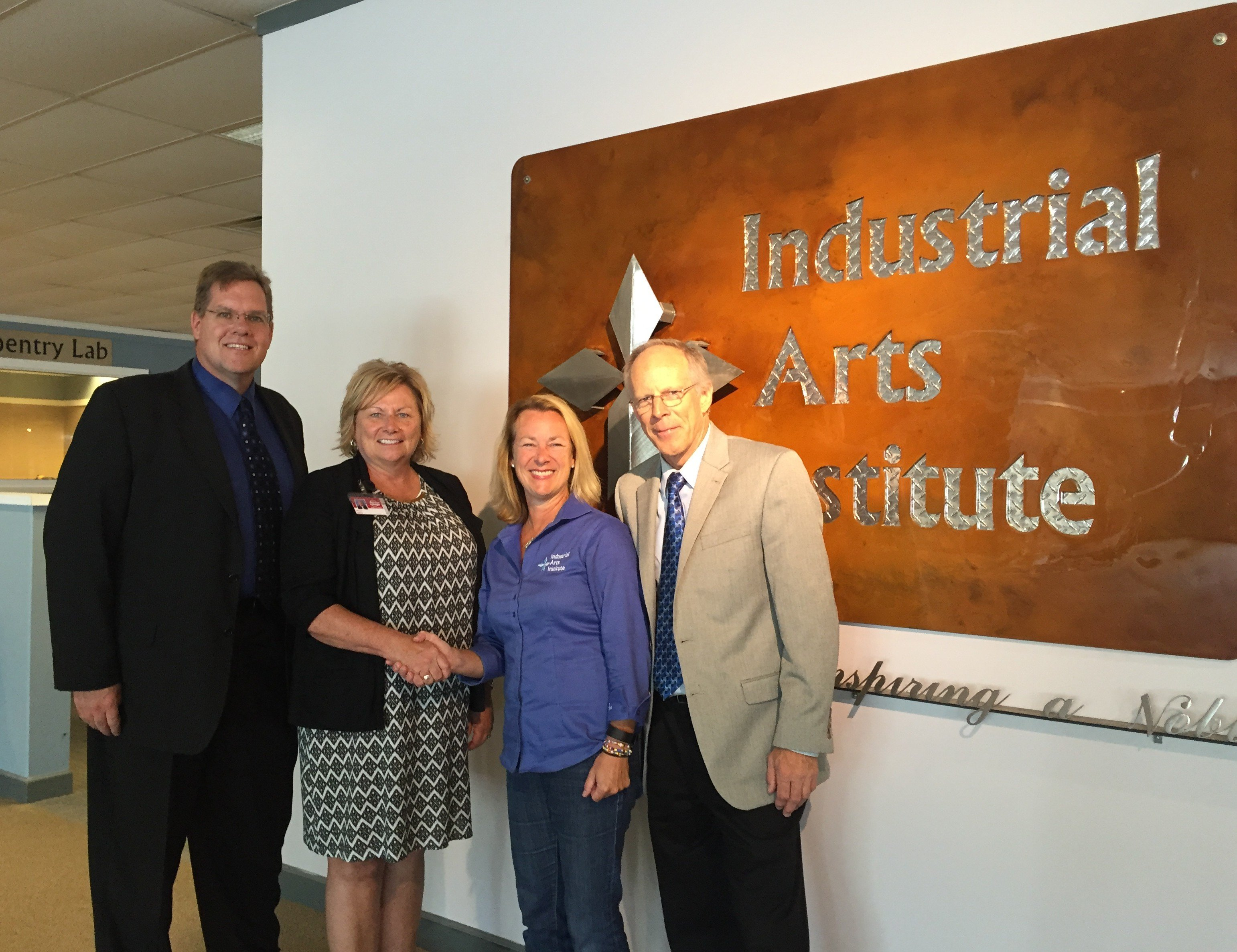 Industrial Arts Institute and Baker College Partner on College Welding Degree
